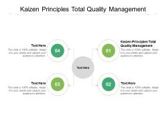 Kaizen Principles Total Quality Management Ppt PowerPoint Presentation Portfolio Icon Cpb Pdf