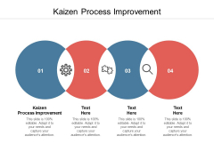Kaizen Process Improvement Ppt PowerPoint Presentation Layouts Templates Cpb
