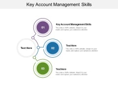 Key Account Management Skills Ppt PowerPoint Presentation Summary Templates Cpb Pdf