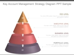 Key Account Management Strategy Diagram Ppt Sample