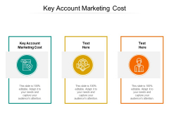 Key Account Marketing Cost Ppt PowerPoint Presentation Infographic Template Structure Cpb Pdf