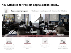 Key Activities For Project Capitalization Contd Ppt Styles Picture PDF