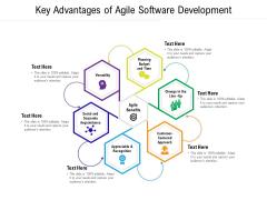 Key Advantages Of Agile Software Development Ppt PowerPoint Presentation Summary Icon PDF