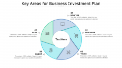Key Areas For Business Investment Plan Ppt PowerPoint Presentation File Background Image PDF