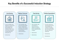 Key Benefits Of A Successful Induction Strategy Ppt PowerPoint Presentation File Show PDF