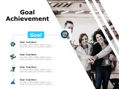Key Business Achievements Goal Achievement Ppt Infographic Template Inspiration PDF
