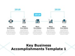 Key Business Achievements Key Business Accomplishments Ppt Inspiration Introduction PDF