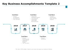 Key Business Achievements Key Business Accomplishments Product Ppt Ideas Objects PDF