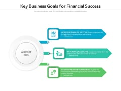 Key Business Goals For Financial Success Ppt PowerPoint Presentation File Influencers PDF
