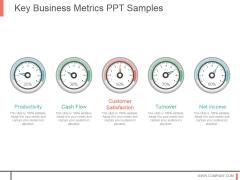 Key Business Metrics Ppt Samples