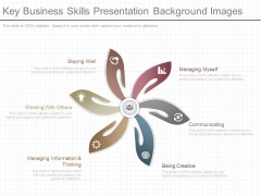 Key Business Skills Presentation Background Images