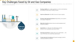Key Challenges Faced By Oil And Gas Companies Mockup PDF