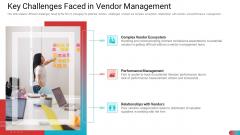 Key Challenges Faced In Vendor Management Formats PDF