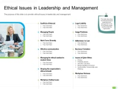 Key Competencies For Organization Authorities Ethical Issues In Leadership And Management Download PDF