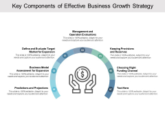 Key Components Of Effective Business Growth Strategy Ppt PowerPoint Presentation Summary Graphic Images