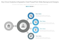 Key Driver Analytics Infographic Chart Powerpoint Slide Background Designs