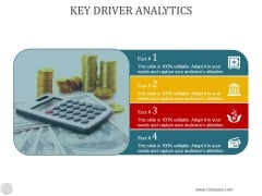 Key Driver Analytics Ppt PowerPoint Presentation Visuals