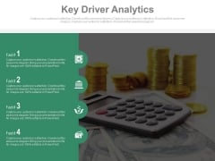 Key Driver Analytics Ppt Slides
