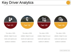 Key Driver Analytics Template 1 Ppt PowerPoint Presentation Influencers