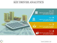 Key Driver Analytics Template 2 Ppt PowerPoint Presentation Template