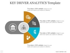 Key Driver Analytics Template Ppt PowerPoint Presentation Examples