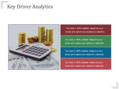 Key Driver Analytics Templates 2 Ppt PowerPoint Presentation Influencers