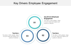 Key Drivers Employee Engagement Ppt PowerPoint Presentation Styles Information Cpb