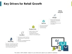 Key Drivers For Retail Growth Ppt PowerPoint Presentation Example File