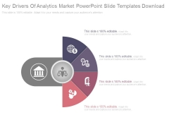 Key Drivers Of Analytics Market Powerpoint Slide Templates Download