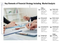 Key Elements Of Financial Strategy Including Market Analysis Ppt PowerPoint Presentation Professional Example Introduction