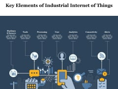 Key Elements Of Industrial Internet Of Things Ppt PowerPoint Presentation Graphics