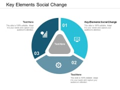 Key Elements Social Change Ppt PowerPoint Presentation Pictures Designs Cpb