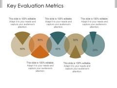 Key Evaluation Metrics Ppt PowerPoint Presentation Example File