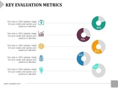 Key Evaluation Metrics Ppt PowerPoint Presentation File Design Ideas