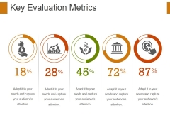 Key Evaluation Metrics Ppt PowerPoint Presentation Layouts Icons