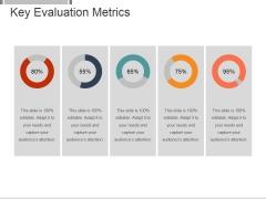 Key Evaluation Metrics Ppt PowerPoint Presentation Visuals