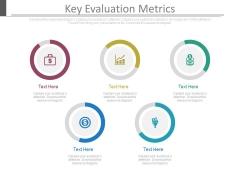 Key Evaluation Metrics Ppt Slides