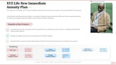 Key Factor In Retirement Planning XYZ Life New Immediate Annuity Plan Download PDF