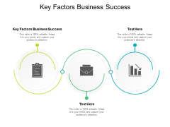 Key Factors Business Success Ppt PowerPoint Presentation Pictures Brochure Cpb