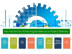 Key Factors For Achieving Excellence In Project Delivery Ppt PowerPoint Presentation Professional Templates PDF