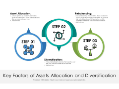 Key Factors Of Assets Allocation And Diversification Ppt PowerPoint Presentation Inspiration Shapes PDF