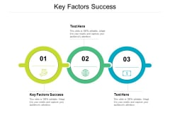 Key Factors Success Ppt PowerPoint Presentation Styles Background Images Cpb