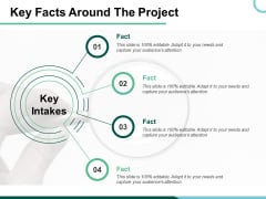 Key Facts Around The Project Ppt PowerPoint Presentation Portfolio Graphics Example