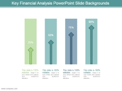 Key Financial Analysis Powerpoint Slide Backgrounds