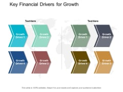 Key Financial Drivers For Growth Ppt Powerpoint Presentation Icon Example File