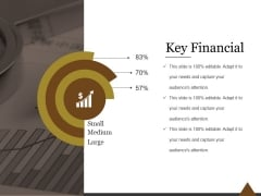 Key Financial Ppt PowerPoint Presentation Backgrounds