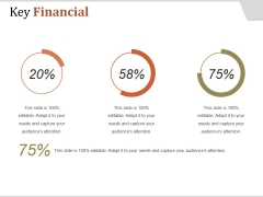 Key Financial Ppt PowerPoint Presentation Pictures