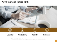 Key Financial Ratios Activity Ppt Powerpoint Presentation Ideas Example Introduction