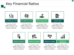 Key Financial Ratios Ppt PowerPoint Presentation Outline Slide