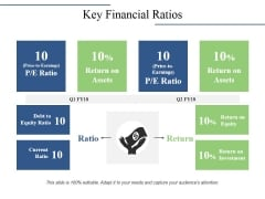 Key Financial Ratios Ppt PowerPoint Presentation Portfolio Background Image